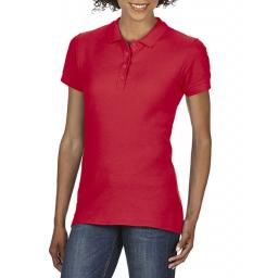 Softstyle Ladies' Double Pique Polo