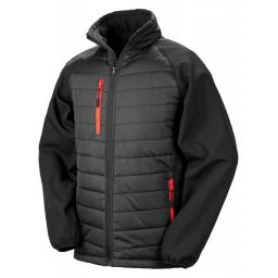 Black Compass Padded Softshell