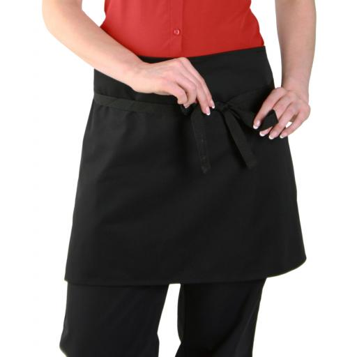 Low Cost Short Bar Apron Without Pocket