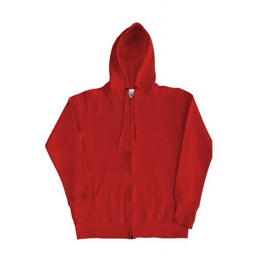 Ladies' Full Zip Urban Hoodie