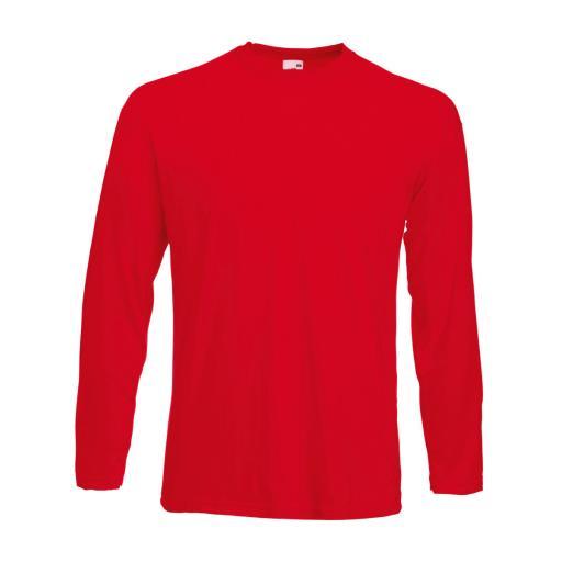 Men's L/Sleeve Valueweight T-Shirt