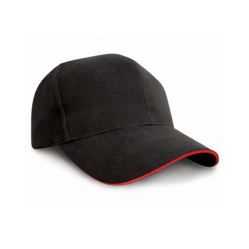 Pro-Style Cotton Cap - Sandwich Peak