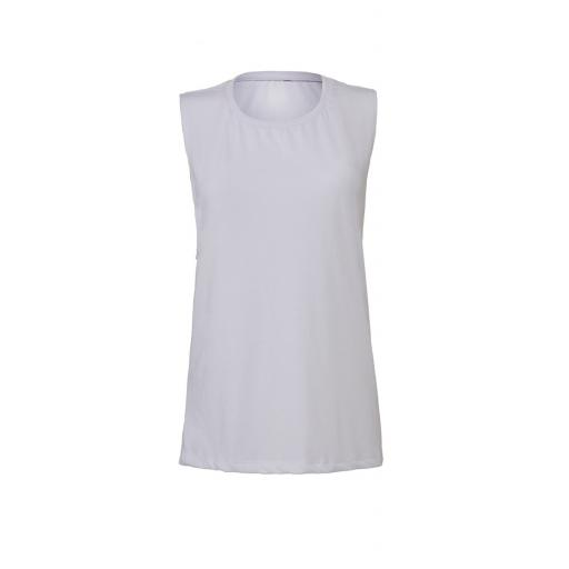 Women's Flowy Scoop Muscle Tee