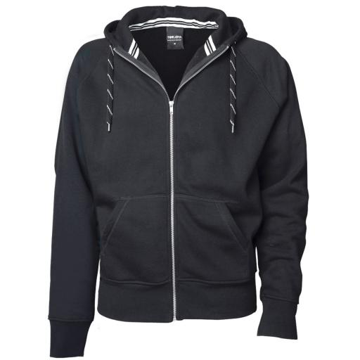 Men's Fashion Full Zip Hooded Sweat