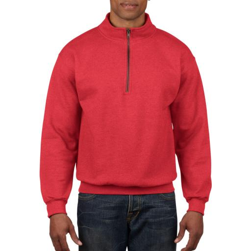 Heavy Blend™ Adult Cadet Collar Sweat