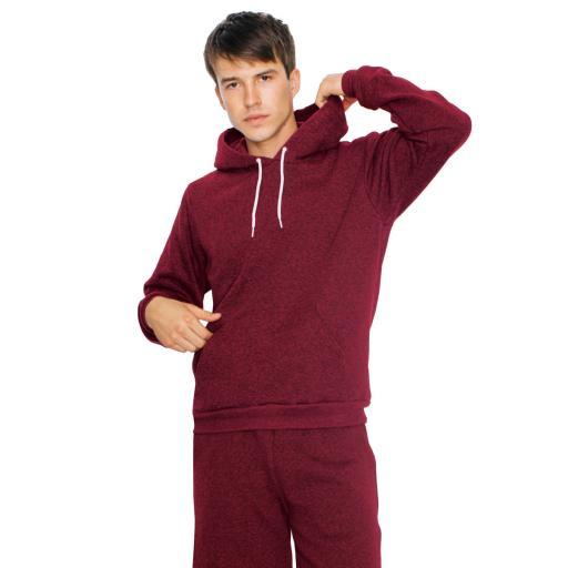 Unisex Mock Twist Pullover Hoodie