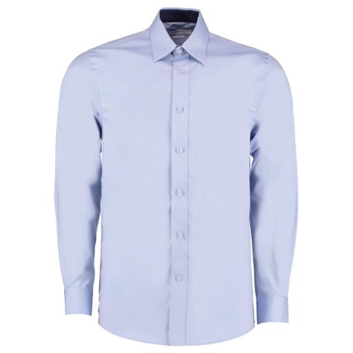 Men's L/Sleeve Contrast Oxford Shirt