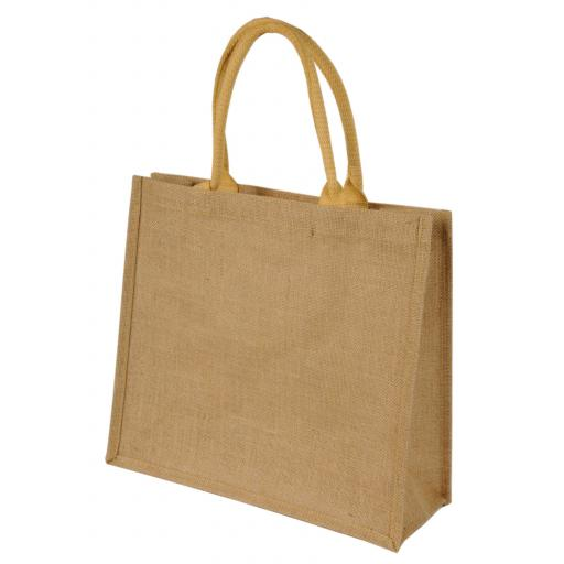 Chennai Short Handled Jute Shopper Bag