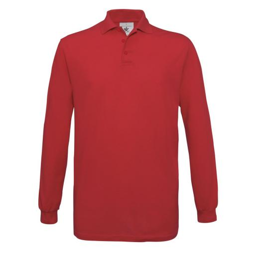 Safran Long-sleeved Polo Shirt