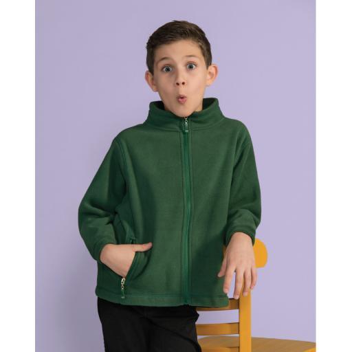 Kid's Full Zip Fleece