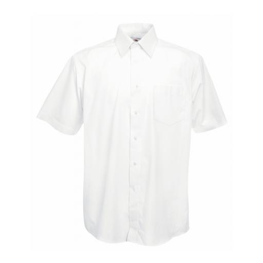 Men's S/Sleeve Poplin Shirt
