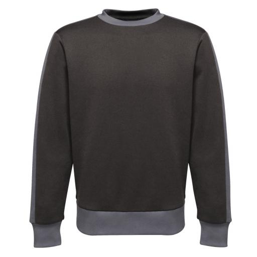 Men's Contrast Crew Sweat