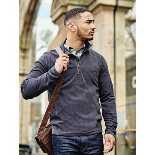 Men's Parkline Zip Neck Fleece