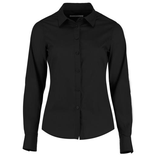 Women's Long Sleeve Poplin Shirt