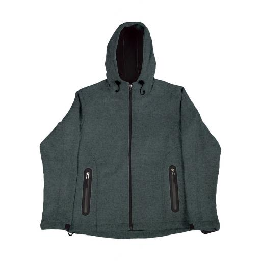 Men's Knitted Bonded Softshell