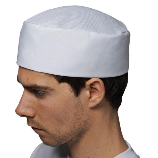 White Skull Cap Thermocool Crown
