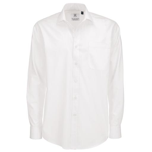 Men's Smart L/Sleeve Poplin Shirt