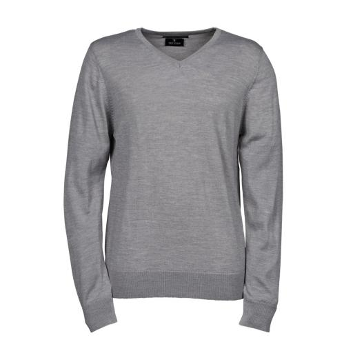 Men's V Neck Knitted Sweater