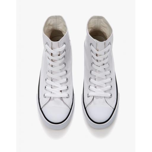 Unisex High Top Printable Canvas Shoe