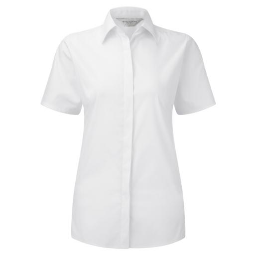 Ladies' S/Sleeve Stretch Shirt