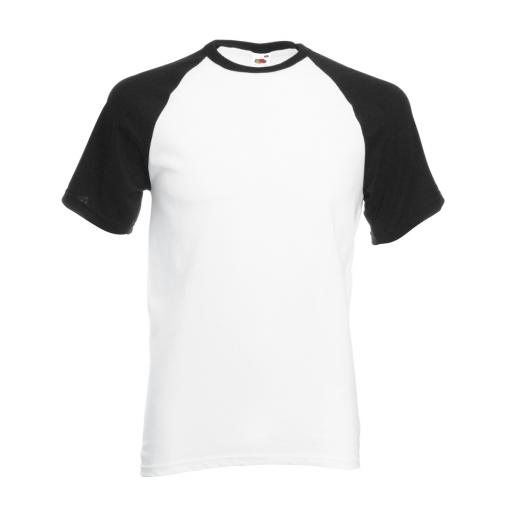 Men's Valueweight S/Sleeve Baseball T-Sh