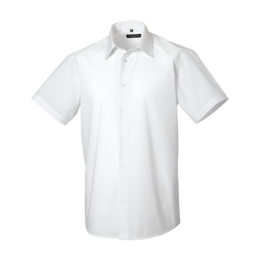 Men's S/Sleeve Polycotton Shirt