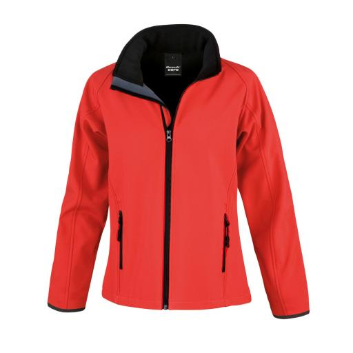 Ladies' Printable Softshell Jacket