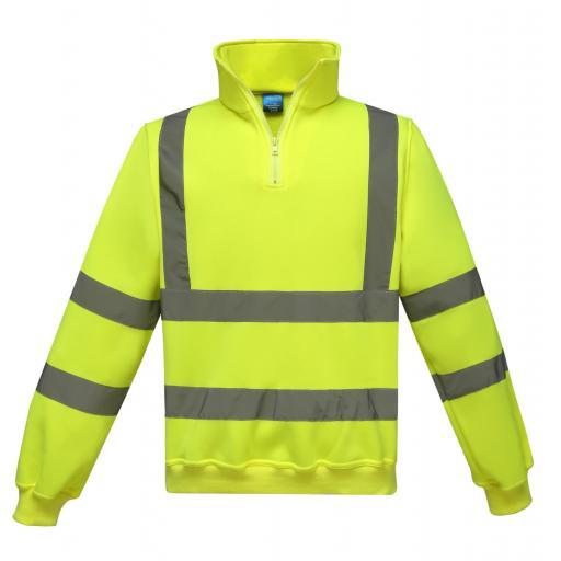 Hi-Vis 1/4 Zip Sweatshirt