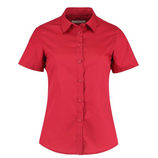 Women's Short Sleeve Poplin Shirt