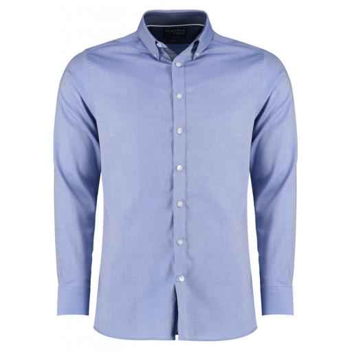 Men's Tailored L/S Contrast Oxford Shirt