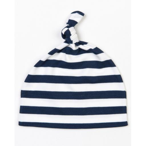 Stripy One Knot Hat