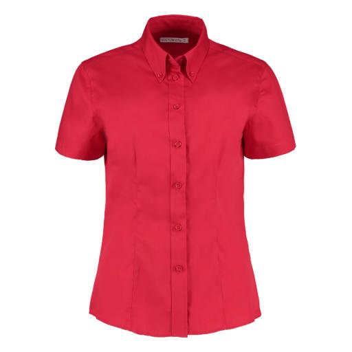 Ladies' S/Sleeve Oxford Shirt