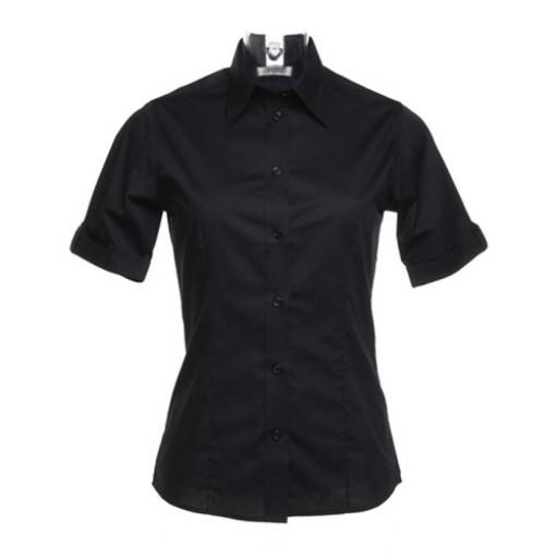 Ladies' Mock Turn Back Cuff Shirt