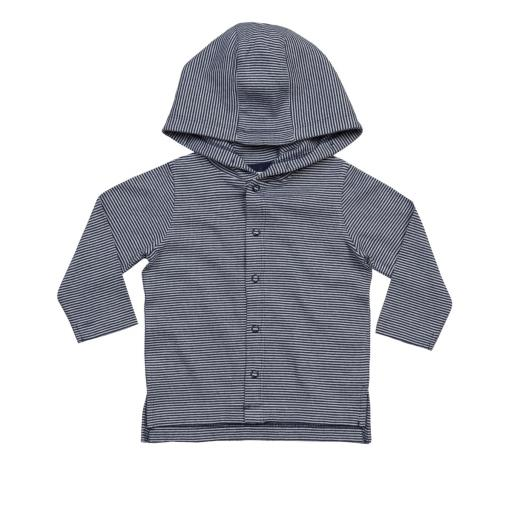 Baby Striped Hooded Tee