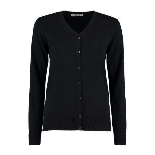 Ladies' L/S V-Neck Cardigan