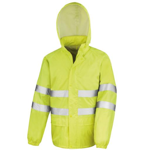 Hi-Vis Waterproof Suit