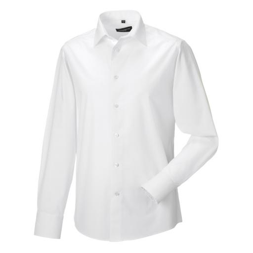 Men's L/Sleeve Fitted Shirt