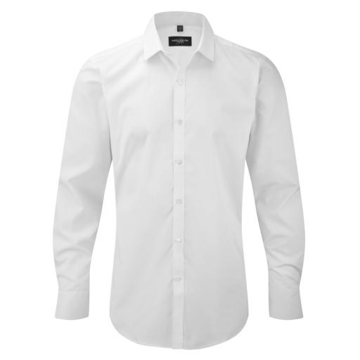 Men's L/Sleeve Stretch Shirt