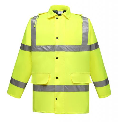 Hi-Vis Contractor Jacket
