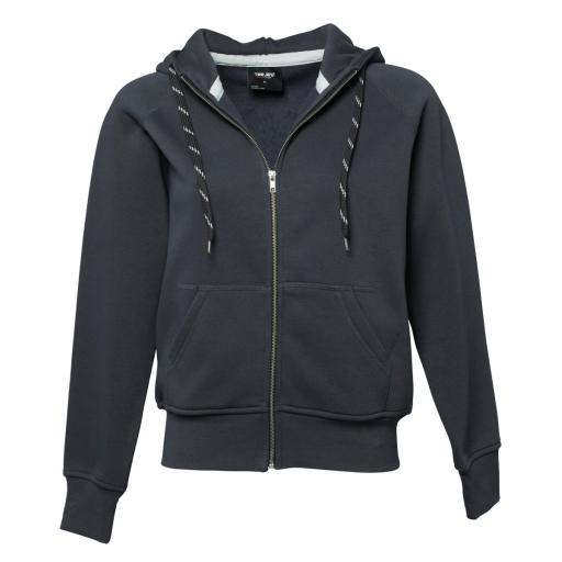 Ladies' Fashion Full Zip Hooded Sweat