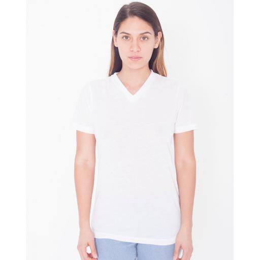 Women's Sublimation Classic S/S V-Neck T