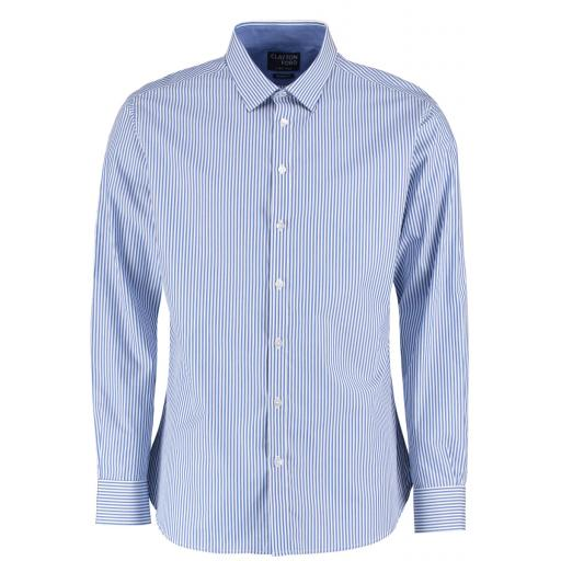 Men's Tailored L/S Bengal Stripe Shirt