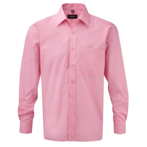 Men's L/Sleeve Poplin Shirt