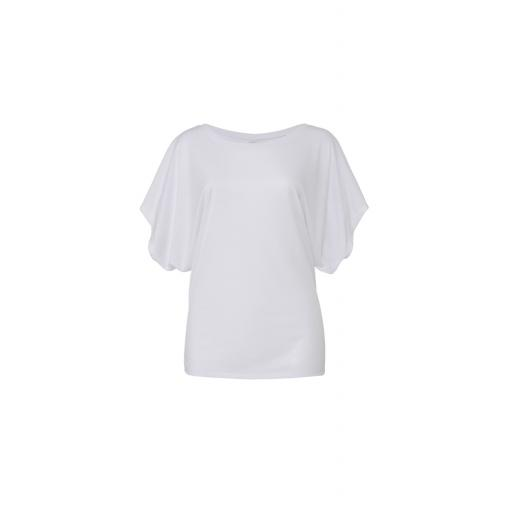 Women's Flowy Draped Dolman Tee