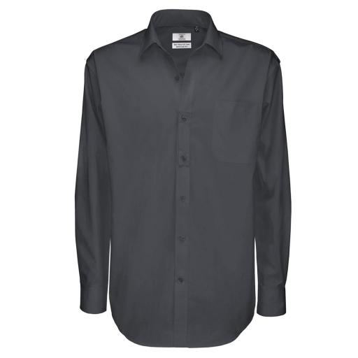 Men's Sharp Long Sleeve Twill Shirt