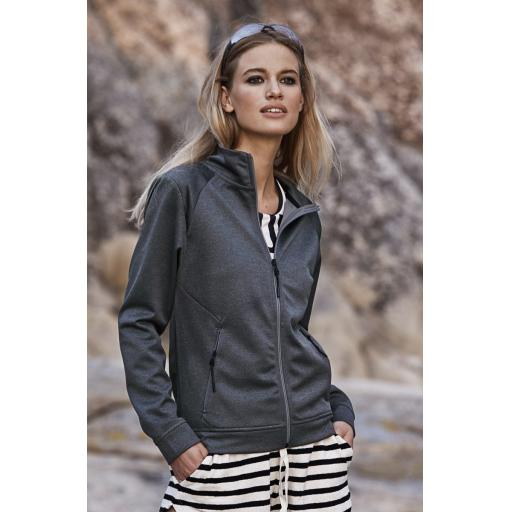 Ladies' Performance Zip Sweat