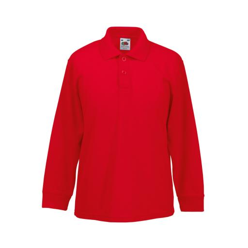 Children's L/Sleeve Polo