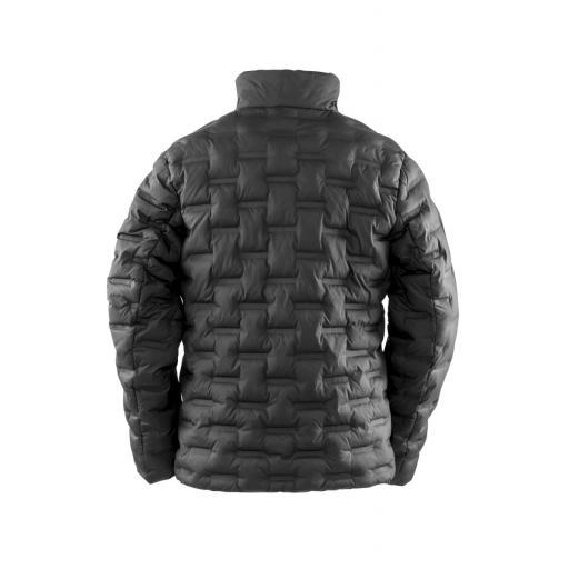Unisex Ultrasonic Rib Long Coat