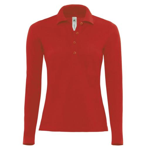 Safran Pure Women's L/S Polo