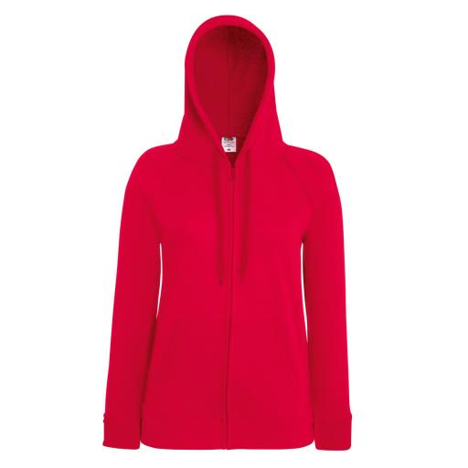 Lady-Fit L/Weight Raglan Hooded Jacket